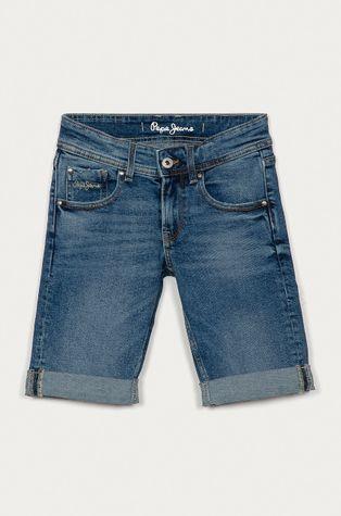 Pepe Jeans - Detské rifľové krátke nohavice Becket 128-180 cm