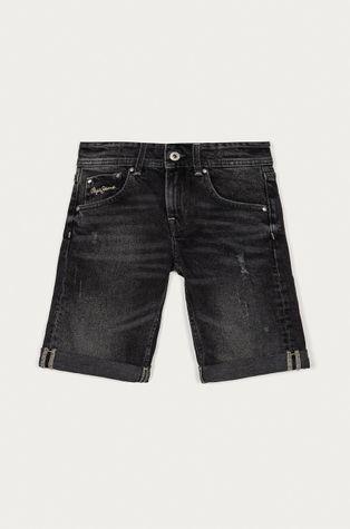 Pepe Jeans - Szorty jeansowe dziecięce Becket Short 128-180 cm