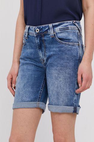 Pepe Jeans - Džínové šortky Poppy
