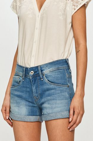 Pepe Jeans - Джинсовые шорты Siouxie