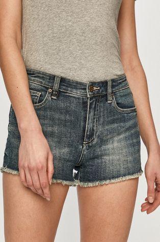 Armani Exchange - Rifľové krátke nohavice