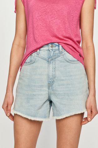 Pepe Jeans - Szorty jeansowe Rachel
