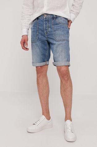 Pepe Jeans - Szorty jeansowe Jarrod