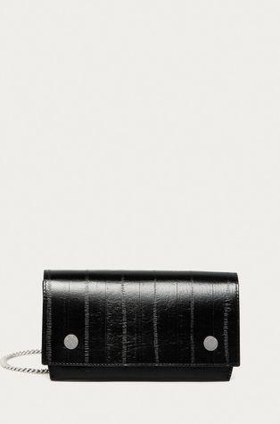 AllSaints - Кожена чанта Клъч