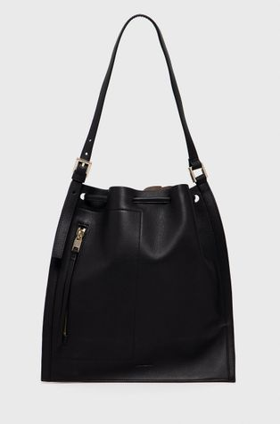 AllSaints - Шкіряна сумочка