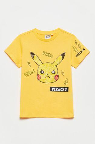 OVS - T-shirt bawełniany dziecięcy