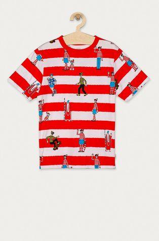 Vans - Detské tričko X Where's Wally? 129-173 cm
