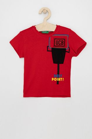 United Colors of Benetton - Детска памучна тениска