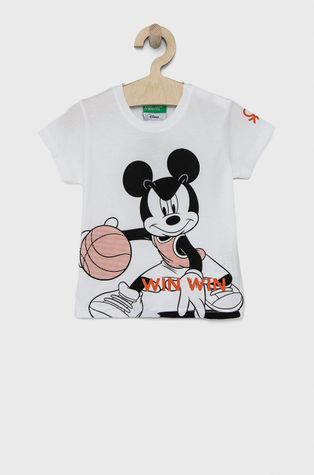 United Colors of Benetton - Детска памучна тениска x Disney
