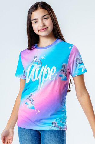 Hype - Дитяча футболка UNICORN FADE