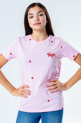 Hype - T-shirt dziecięcy HEART REPEAT