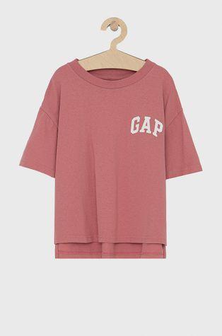 GAP - T-shirt bawełniany dziecięcy 683660.GIRLS.KNITS.SWEA