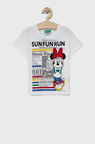 United Colors of Benetton - T-shirt bawełniany dziecięcy x Disney