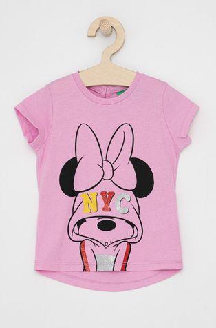 United Colors of Benetton - T-shirt bawełniany dziecięcy