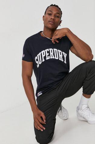 Superdry - Бавовняна футболка
