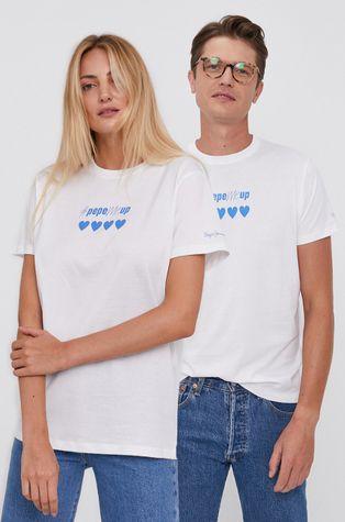 Pepe Jeans - T-shirt bawełniany Pepemeup