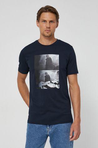 Boss - T-shirt bawełniany Boss Casual