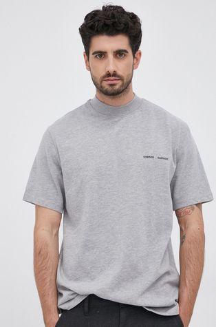Samsoe Samsoe - Βαμβακερό μπλουζάκι