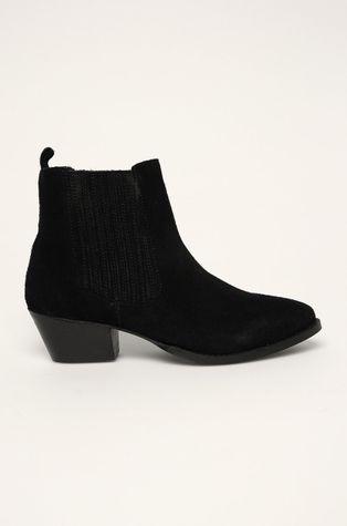 Answear - Kožené členkové topánky