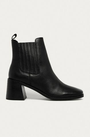 Answear - Kožené členkové topánky Answear Lab
