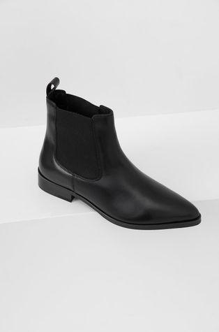 Answear Lab - Δερμάτινες μπότες Τσέλσι