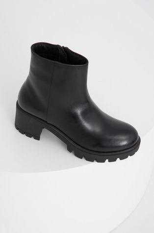 Answear Lab - Kožené kotníkové boty