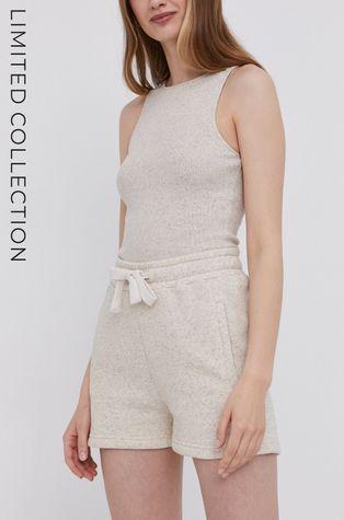 Answear Lab - Къси панталони със сертификат OEKO от лимитираната колекция Ethical Wardrobe