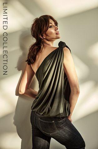 Answear Lab - Топ със сертификат OEKO от лимитираната колекция Ethical Wardrobe