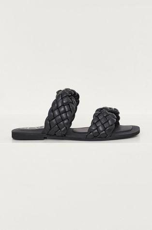 Answear Lab - Kožené pantofle z narozeninové kolekce