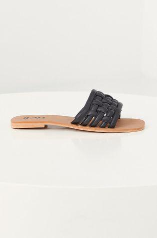 Answear Lab - Kožené pantofle