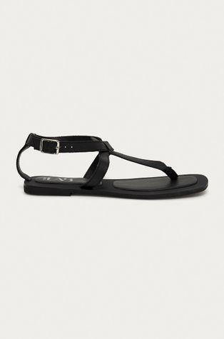 Answear Lab - Kožené sandály z narozeninové kolekce