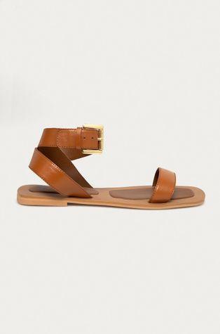 Answear Lab - Kožené sandály