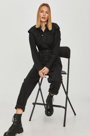 Answear Lab - Kombinezon jeansowy