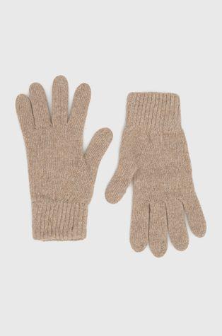 Answear Lab - Rękawiczki z kaszmirem