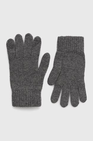 Answear Lab - Rękawiczki z lnem i kaszmirem