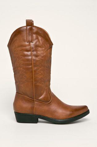 Answear - Nízké kozačky Ideal Shoes
