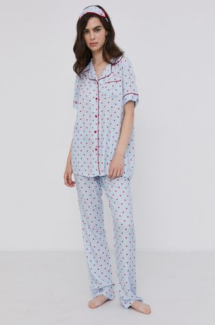 Answear Lab - Piżama z opaską na oczy