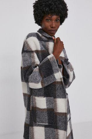 Answear Lab - Płaszcz z domieszką wełny