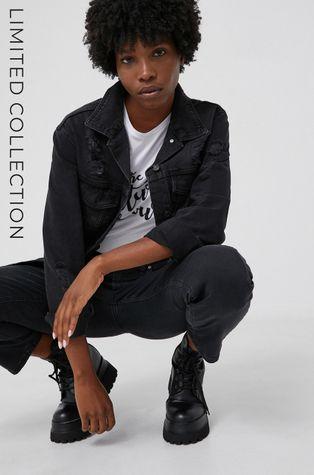 Kurtka jeansowa answear.LAB X kolekcja limitowana GIRL POWER