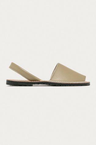 Answear Lab - Kožené sandále Buonarotti