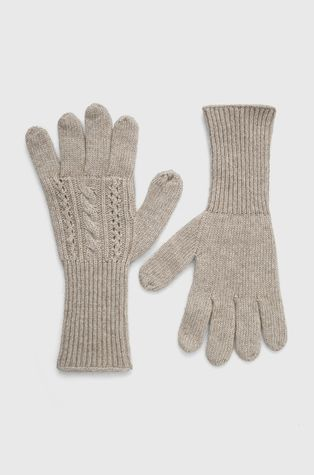 Answear Lab - Rękawiczki z domieszką wełny