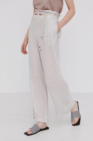 Answear Lab - Spodnie lniane Pure Linen
