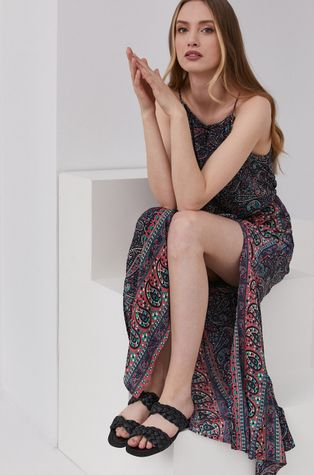 Answear Lab - Sukienka jedwabna Silk Blend