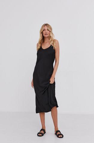 Answear Lab - Сукня з домішкою шовку Silk Blend