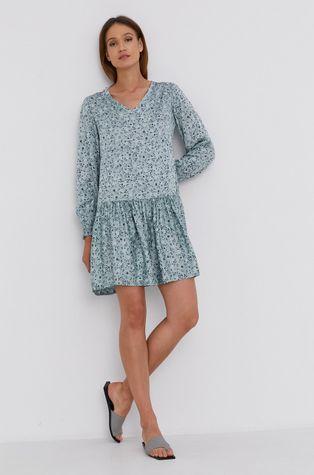 Answear Lab - Sukienka z domieszką jedwabiu Silk Blend