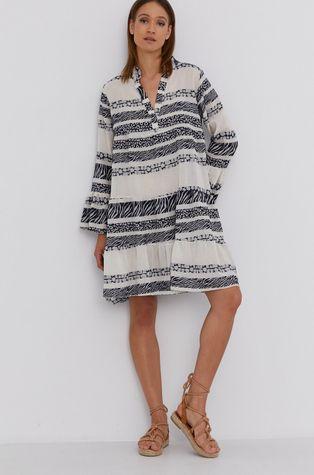 Answear Lab - Sukienka lniana Pure Linen