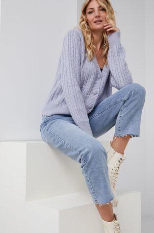 Answear Lab - Cardigan din amestec de lana