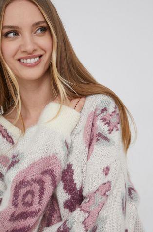 Answear Lab - Gyapjúkeverék pulóver