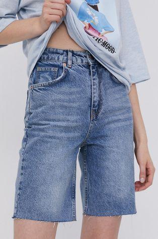 Answear Lab - Rifľové krátke nohavice