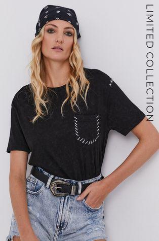 T-shirt answear.LAB X kolekcja limitowana GIRL POWER, model HAND DYED